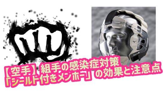 【空手】組手の感染症対策「シールド付きメンホー」の効果と注意点